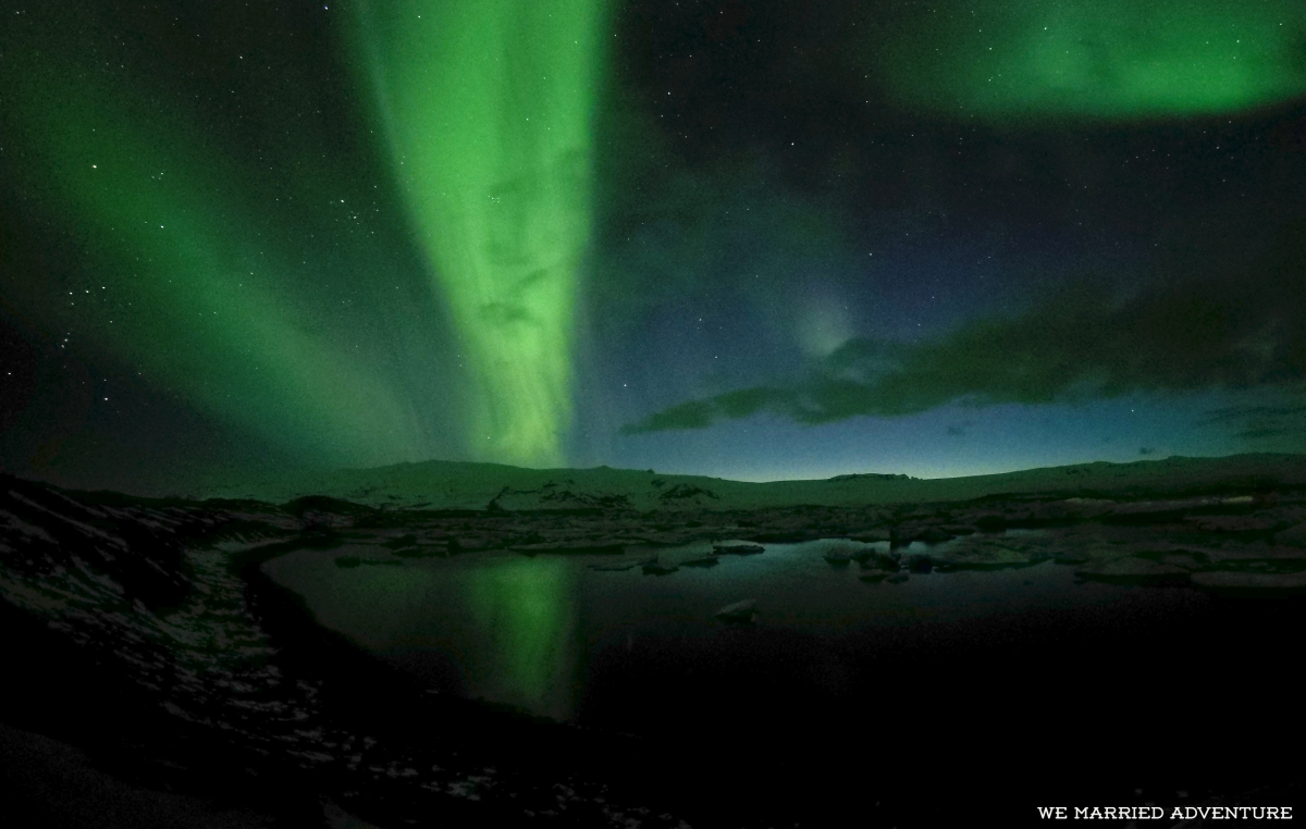 Northern Lights, Glaciers, and Black Sand Beaches in Iceland