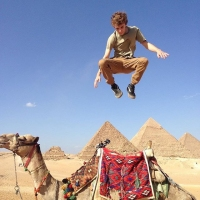 Egyptian Adventure: Camel Jumping and Pyramid Kitsch in Cairo